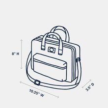Load image into Gallery viewer, The Tag Lunch Bag-Checker Horizon