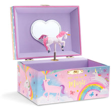 Load image into Gallery viewer, Cotton Candy Unicorn Musical Jewelry Box