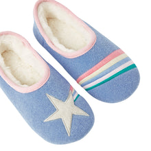Load image into Gallery viewer, Dreamwell Slippers-Blue Star