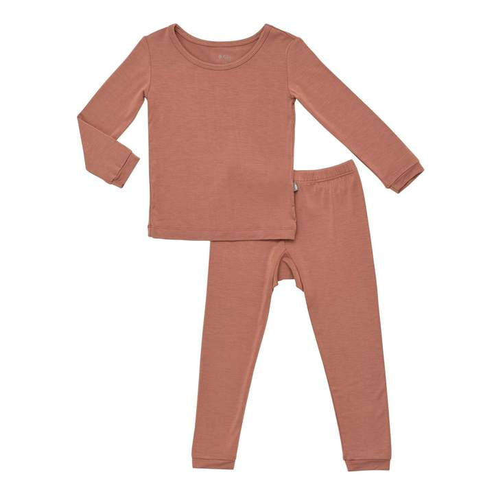 Toddler Pajama Set - Spice
