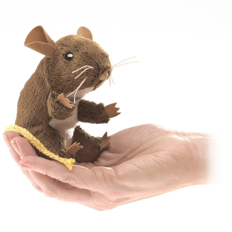 Mini Field Mouse Puppet
