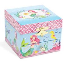 Load image into Gallery viewer, Ariel Mermaid Magic Musical Box with Drawers