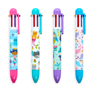 Mermaid Magic 6 Click Mutli Color Pen