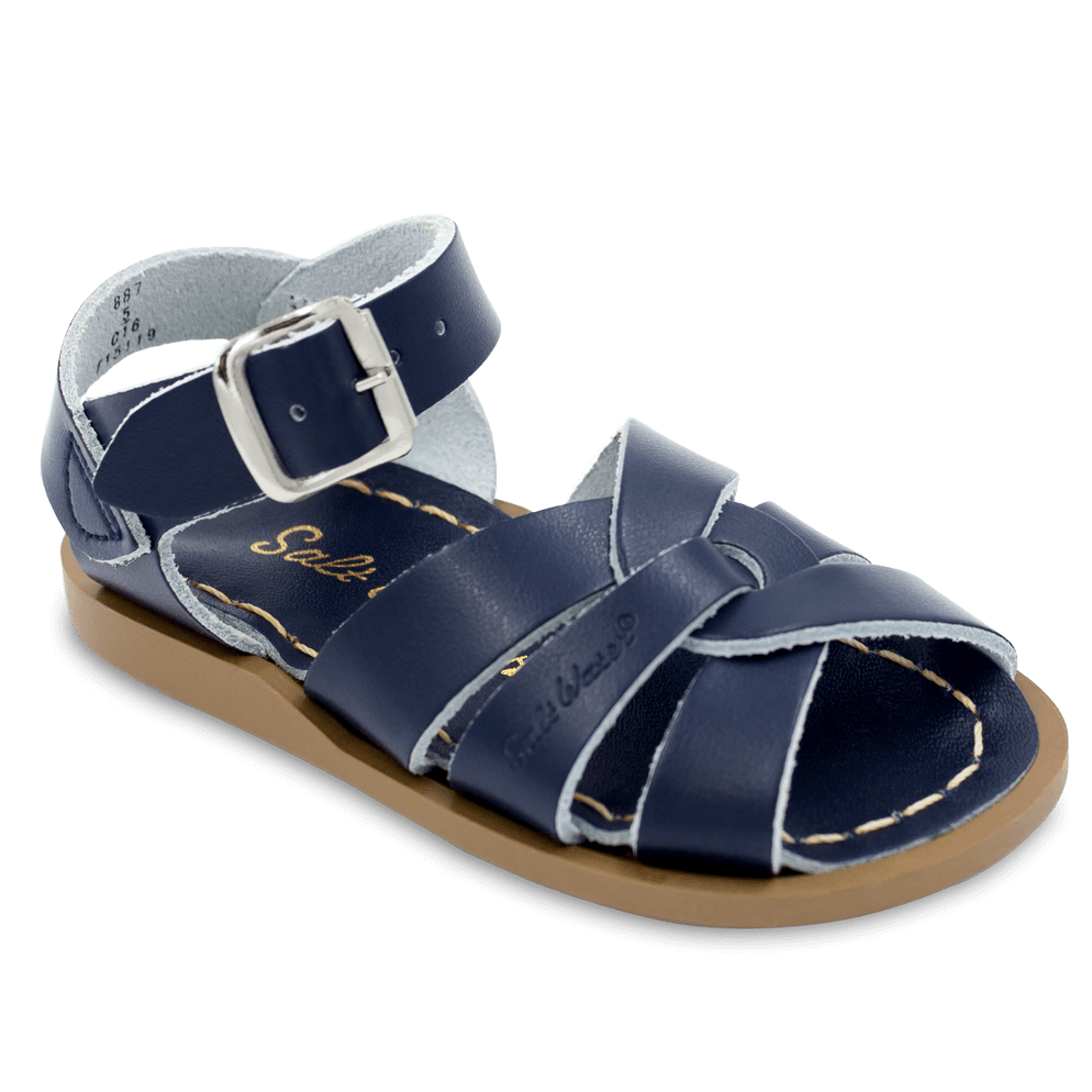 The Original Saltwater Sandal-Navy