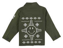 Load image into Gallery viewer, Peace Tribe Military Jacket-LIMITED EDITION