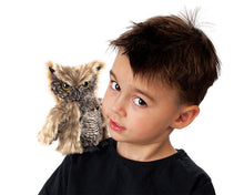 Load image into Gallery viewer, Screech Owl Puppet