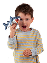 Load image into Gallery viewer, Mini Shark Puppet