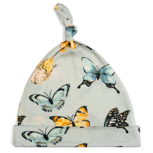 Bamboo Knotted Hat - Butterfly