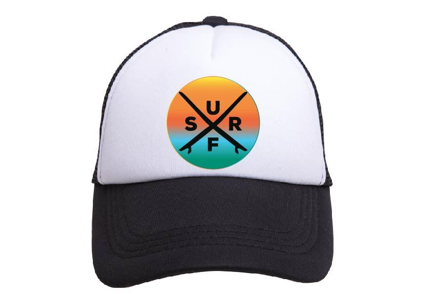 Tiny Trucker Hat-Surf X Sunset