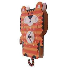 Load image into Gallery viewer, Tiger Pendulum Clock