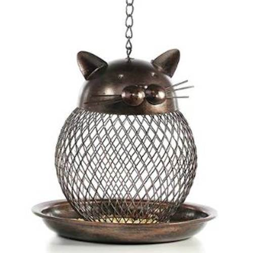 mangeoire chat grille