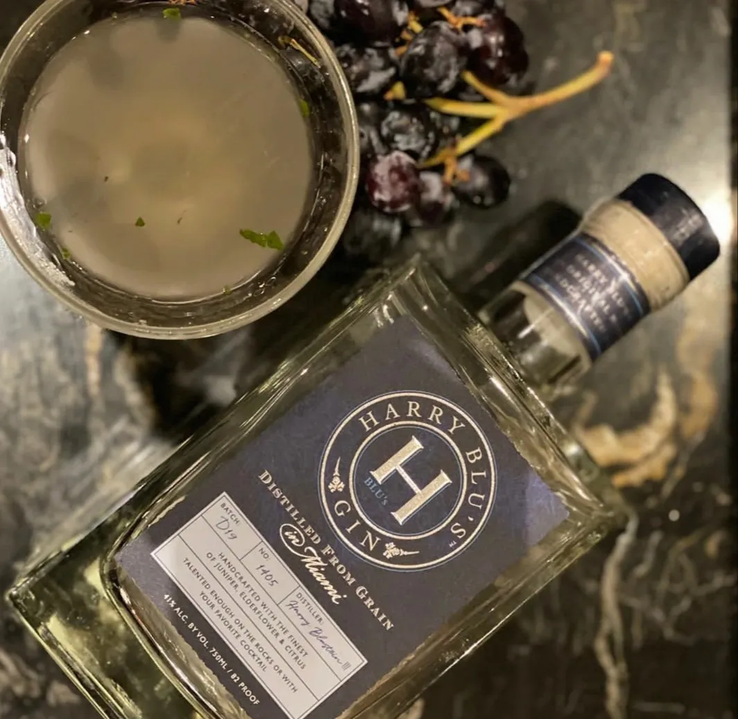Harry Blu's Gin