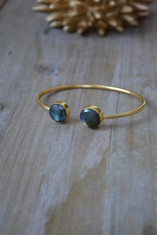Labradorite Round Bangle