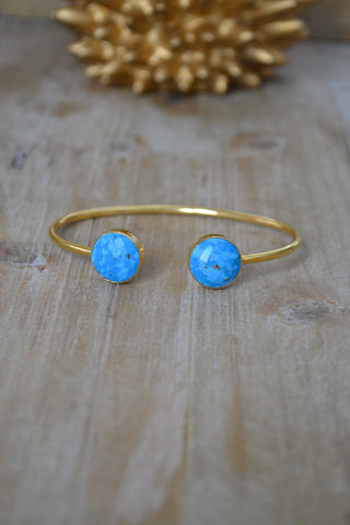 Turquoise Round Bangle