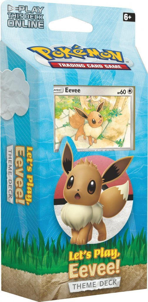 POKÉMON TCG Let's Play, Theme Decks Eevee - The Mythic Store | 24h Order Processing | The Mythic Store