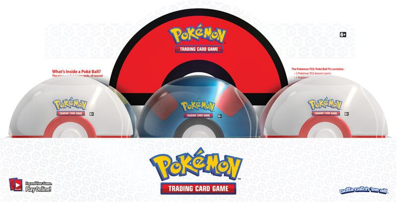 POKÉMON TCG Poké Ball Tin - Premire Ball - The Mythic Store | 24h Order Processing | The Mythic Store