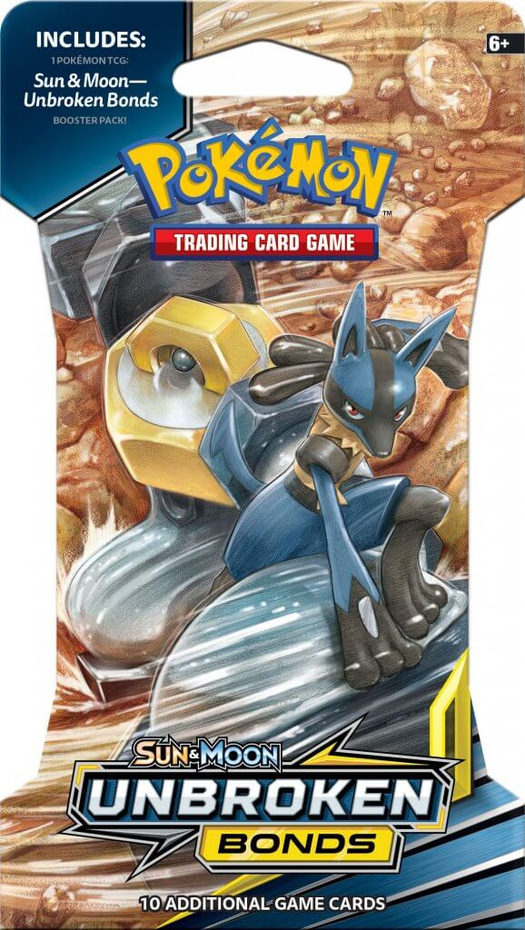 POKÉMON TCG Sun & Moon Unbroken Bonds Blister - The Mythic Store | 24h Order Processing | The Mythic Store
