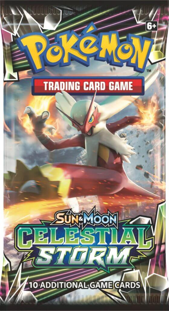 POKÉMON TCG Sun & Moon Celestial Storm Booster - The Mythic Store | 24h Order Processing | The Mythic Store