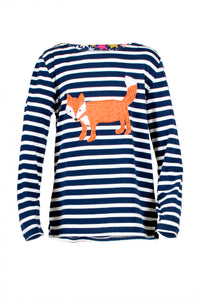 Mr Fox Long Sleeve Tee