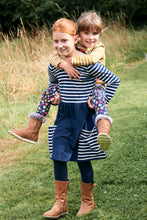 Load image into Gallery viewer, Mix & Match Dress - Navy