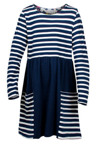 Mix & Match Dress - Navy
