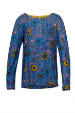 Load image into Gallery viewer, Geo Flower Long Sleeve Tee
