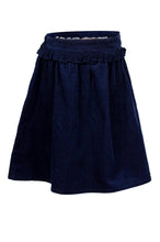 Load image into Gallery viewer, Cord Skirt - Navy