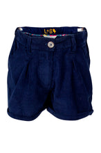 Load image into Gallery viewer, Cord Shorts - Navy