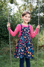 Load image into Gallery viewer, Cord Pinafore Dress - Woodland