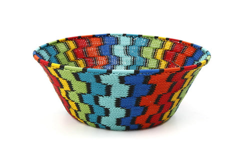 Bowl - Telephone Wire, Multi-Colored