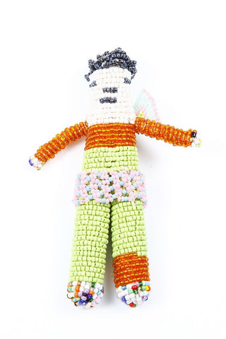 Small Beaded Doll