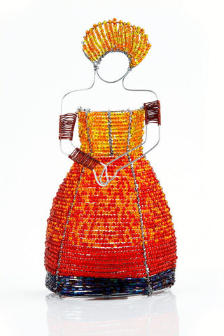 Votive - Beaded, Xhosa Lady
