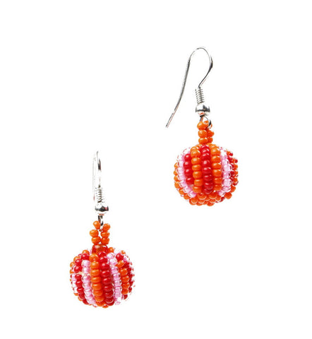 Earrings - Bauble on hook