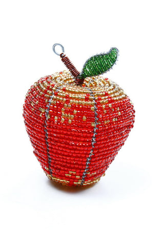 Red/Gold Apple Small handcrafted in Afica