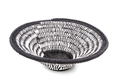 Cotton & Sisal hand-woven African basket made by artisans from Africa