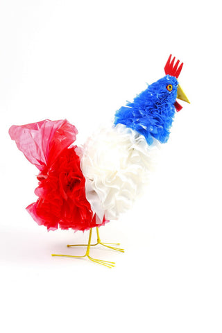 Large Chicken Red/White/Blue