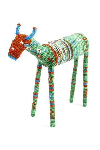 Beaded Striped Impala hand-crafted in Africa