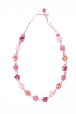 Necklace - Bauble, Pink
