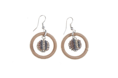 Earrings - Telephone Wire, Bauble