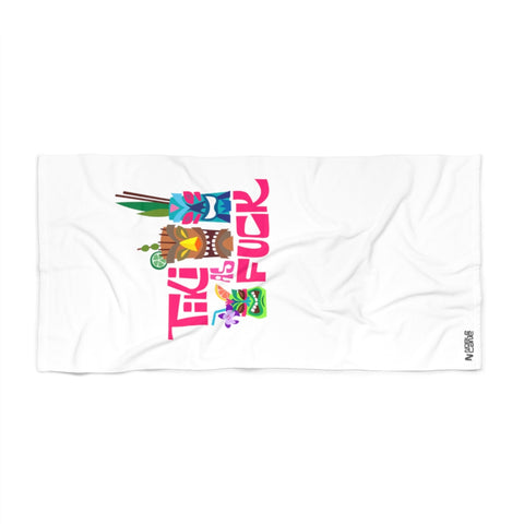 #TikiAsFuck - Beach Towel