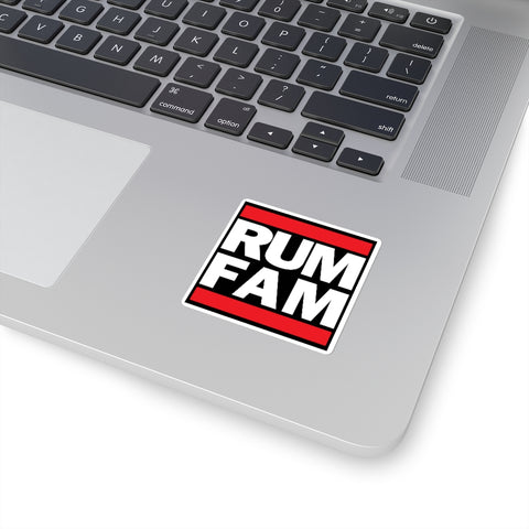 Rum Family Inu-A-Kena 2020 - Square Stickers
