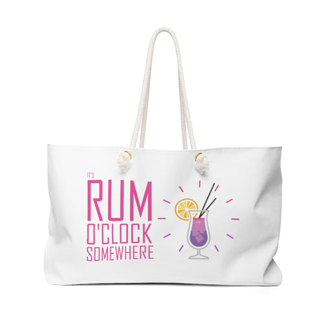 It's Rum O'Clock 2020 - Weekender Bag