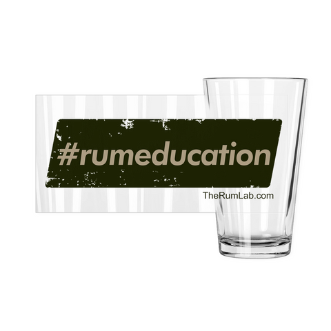 #rumeducation - Pint Glasses