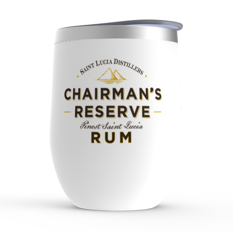 Chairman's Reserve Rum - Stemless Wine Tumblers