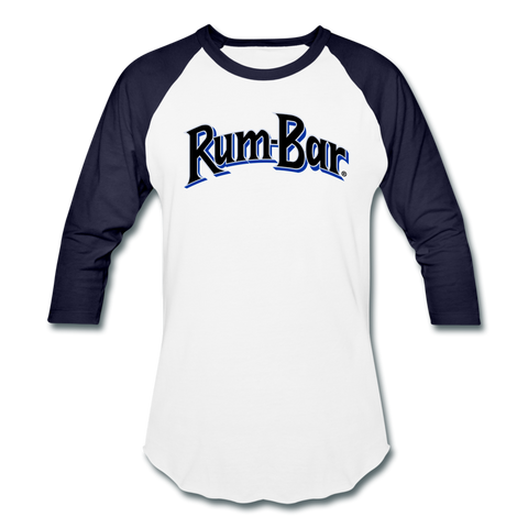 Rum-Bar Baseball T-Shirt - white/navy