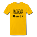 RHUM JM - Men's Premium T-Shirt - sun yellow