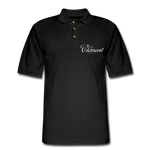 CLÉMENT RHUM - Men's Pique Polo Shirt - black