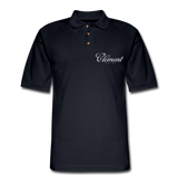 CLÉMENT RHUM - Men's Pique Polo Shirt - midnight navy