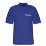 CLÉMENT RHUM - Men's Pique Polo Shirt - royal blue