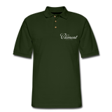 CLÉMENT RHUM - Men's Pique Polo Shirt - forest green